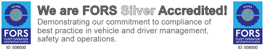A1 Services (Manchester) Limited are FORS Silver accredited.