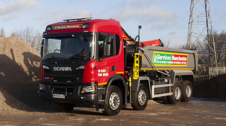 NEW 69 Plate Scania Grab Truck